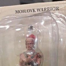 Juguetes Antiguos: MILITAR MINIATURA SOLDADO PLOMO INDIO MOHAWK WARRIOR. Lote 198172217