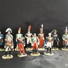 Juguetes Antiguos: SOLDADOS DE PLOMO DE GENERALES DE GUERRA DE 1754 A 1870. Lote 198602398