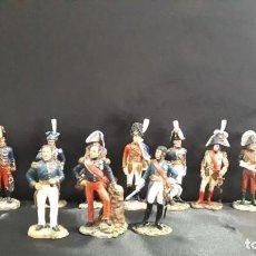 Juguetes Antiguos: SOLDADOS DE PLOMO DE MARISCALES DE GUERRA DE 1754 A 1870. Lote 198604090