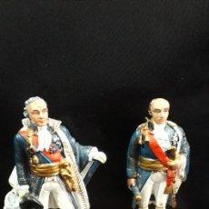 Juguetes Antiguos: SOLDADOS DE PLOMO DE MARISCALES DE GUERRA. Lote 198604600