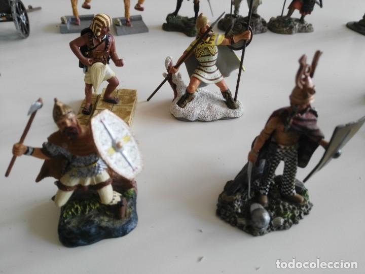 Juguetes Antiguos: lote soldados de plomo diferentes fabricantes - Foto 2 - 198912307