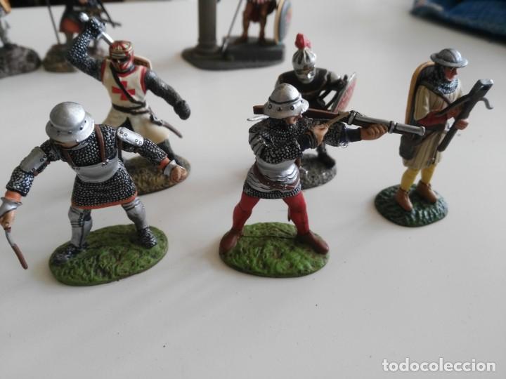 Juguetes Antiguos: lote soldados de plomo diferentes fabricantes - Foto 4 - 198912307