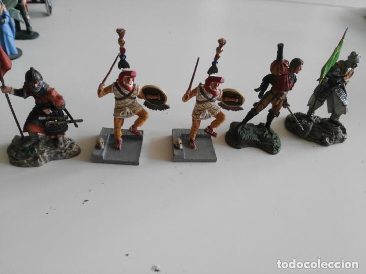Juguetes Antiguos: lote soldados de plomo diferentes fabricantes - Foto 8 - 198912307