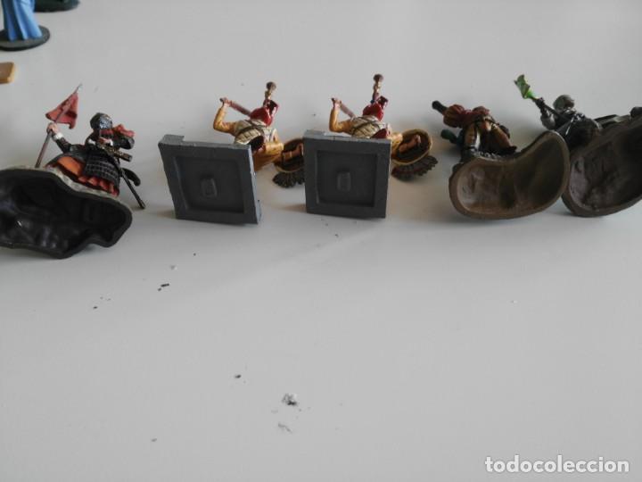 Juguetes Antiguos: lote soldados de plomo diferentes fabricantes - Foto 9 - 198912307