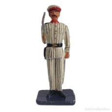 Juguetes Antiguos: OFICIAL DE INFANTERIA RAYADILLO CUBA FILIPINAS 1898 55 MM ALYMER FIGURA PLOMO #6. Lote 218610322