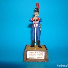 Juguetes Antiguos: SOLDADO SOLDAT ESPAÑA 1809 SARGENTO 2º RGTO ZAPADORES MINADORES 54MM. Lote 199659631