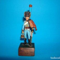Juguetes Antiguos: SOLDADO DE PLOMO HÚSARES DESCONOZCO LA MARCA 54MM. Lote 199665468