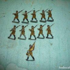 Juguetes Antiguos: FIGURAS PLOMO. Lote 199913618