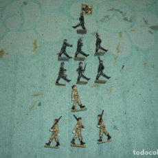 Juguetes Antiguos: FIGURAS PLOMO. Lote 199915550