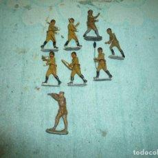 Juguetes Antiguos: FIGURAS PLOMO. Lote 200012441