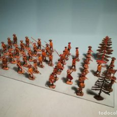 Juguetes Antiguos: FIGURAS SCOUTS PLOMO EULOGIO. Lote 200523425