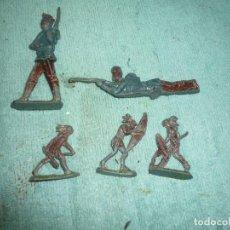 Juguetes Antiguos: FIGURAS DE PLOMO. Lote 200532897
