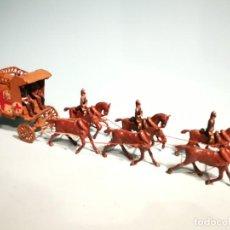 Juguetes Antiguos: AMBULANCIA MILITAR PLOMO CASANELLAS CAPELL. Lote 201244977