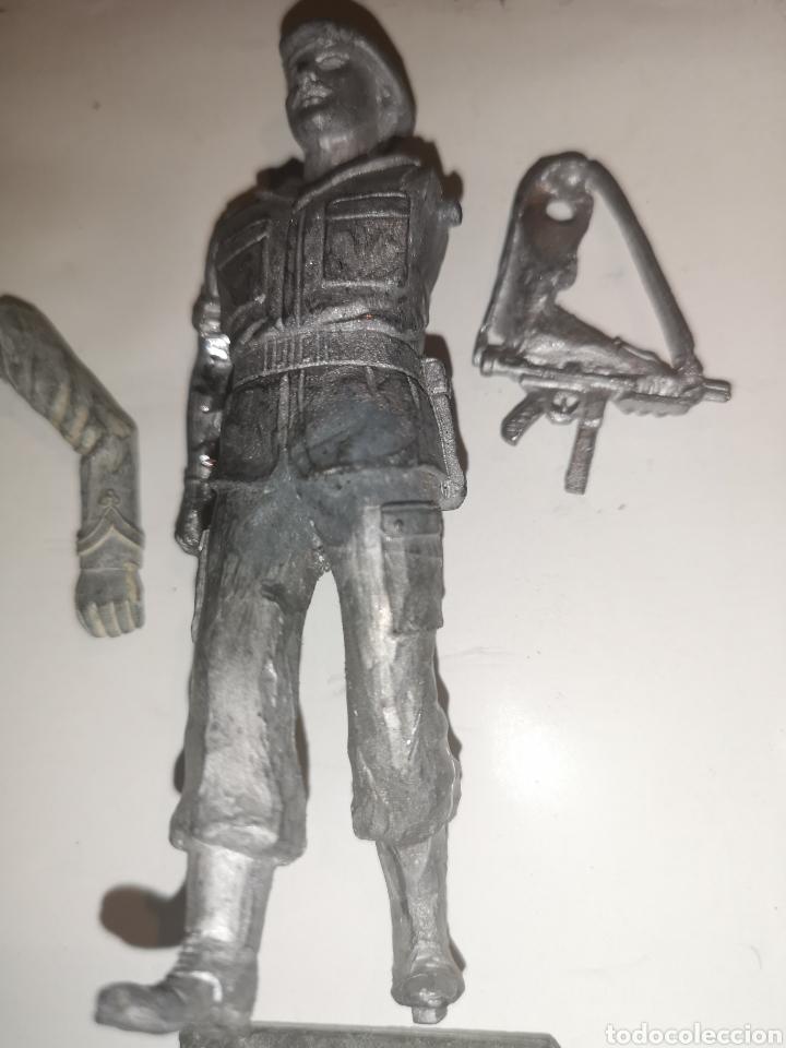 Juguetes Antiguos: Lote de 3 soldaditos de plomo antiguos para montar. - Foto 7 - 202726516