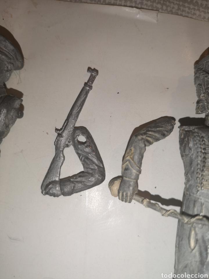 Juguetes Antiguos: Lote de 3 soldaditos de plomo antiguos para montar. - Foto 16 - 202726516