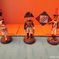 Juguetes Antiguos: ALMIRAL PALOU LOTE DE TRES SOLDADOS NAPOLEONICOS. Lote 204712980