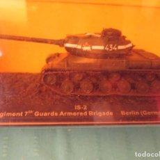 Juguetes Antiguos: CARRO DE COMBATE DEL 104 REGIMIENTO DE LA 7 BRIGADA BERLIN1945. Lote 204740642