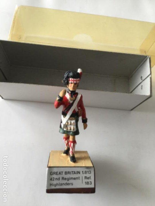 ALMIRALL CON BASE - GREAT BRITAIN 1813- CREO FALTA ESTANDARTE (Juguetes - Soldaditos - Soldaditos de plomo)
