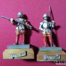 Juguetes Antiguos: SOLDADOS DE LOS TERCIOS DE FLANDES. Lote 205697251