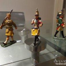 Juguetes Antiguos: VARIADOS SOLDADITOS DE PLOMO MUY ANTIGUOS. Lote 205697811