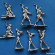 Juguetes Antiguos: LOTE DE SOLDADOS DE PLOMO. TAL COMO SALEN DEL MOLDE.. Lote 205874375