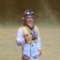 Juguetes Antiguos: SOLDADITO DE PLOMO,RAF FIGHTER PILOT,U.K.1940. EDICIONES DEL PRADO.. Lote 206331700