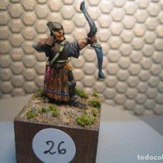 Juguetes Antiguos: SOLDADO DE PLOMO MODELO 26 - TEMA FANTASIA - PINTADO DE CALIDAD- - TAMAÑO PEANA CM. 3X3X2. Lote 206783546