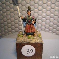 Juguetes Antiguos: SOLDADO DE PLOMO MODELO 30 - TEMA FANTASIA - PINTADO DE CALIDAD- - TAMAÑO PEANA CM. 3X3X2. Lote 206783693