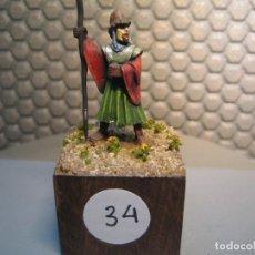 Juguetes Antiguos: SOLDADO DE PLOMO MODELO 34 - TEMA FANTASIA - PINTADO DE CALIDAD- - TAMAÑO PEANA CM. 3X3X2. Lote 206783790