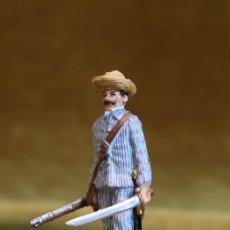 Jogos Antigos: SOLDADOS DE PLOMO,MARCA MUNDIART,OFICIAL ESPAÑOL EN LA GUERRA DE CUBA.. Lote 206994490