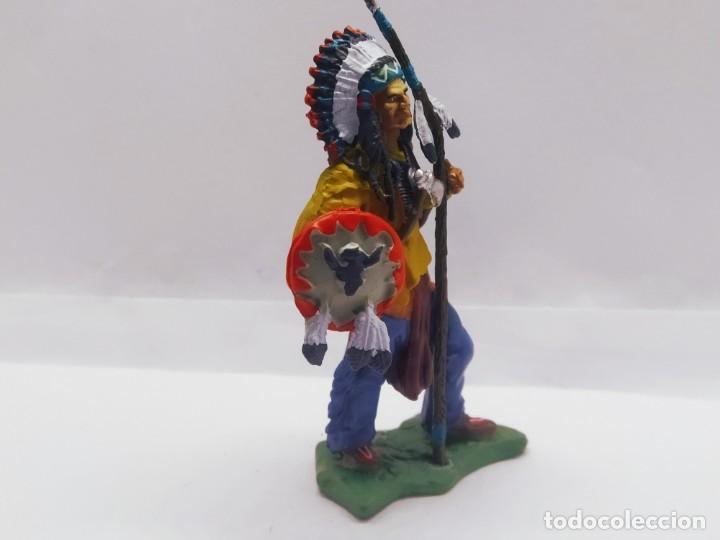 Juguetes Antiguos: INAH001 Toro Sentando Figura plomo Indios americanos Hobby Work - Foto 2 - 209277063