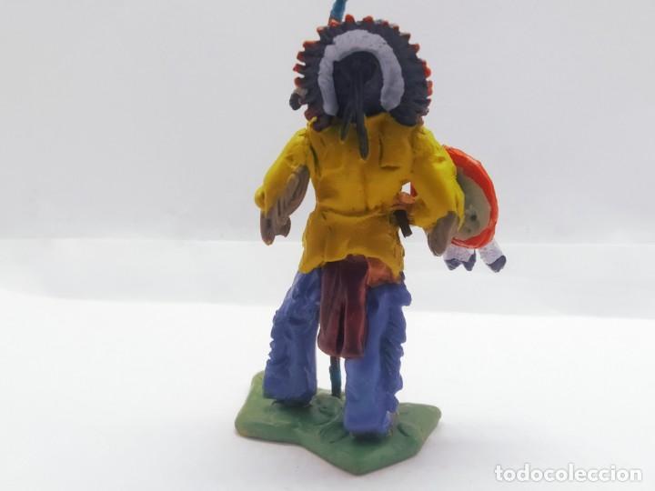 Juguetes Antiguos: INAH001 Toro Sentando Figura plomo Indios americanos Hobby Work - Foto 4 - 209277063