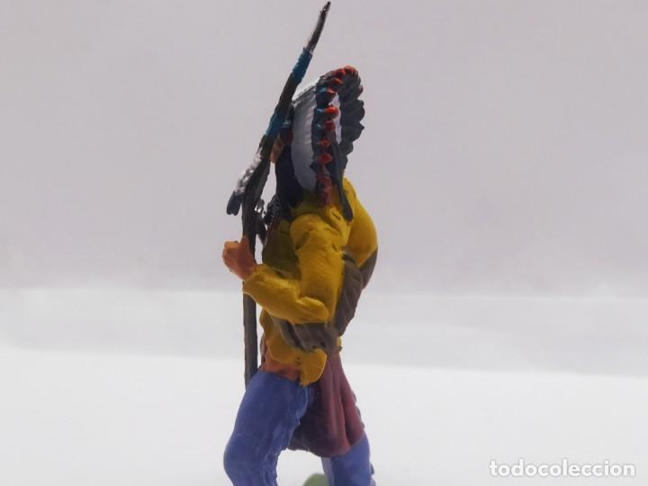 Juguetes Antiguos: INAH001 Toro Sentando Figura plomo Indios americanos Hobby Work - Foto 5 - 209277063