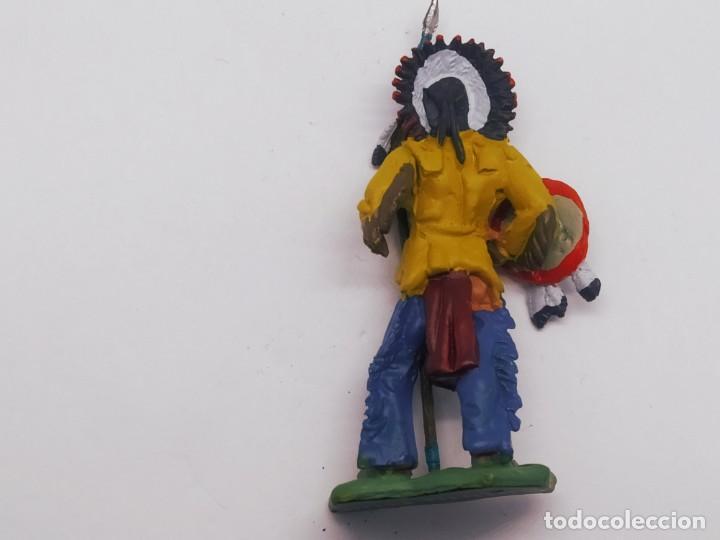 Juguetes Antiguos: INAH001 Toro Sentando Figura plomo Indios americanos Hobby Work - Foto 7 - 209277063