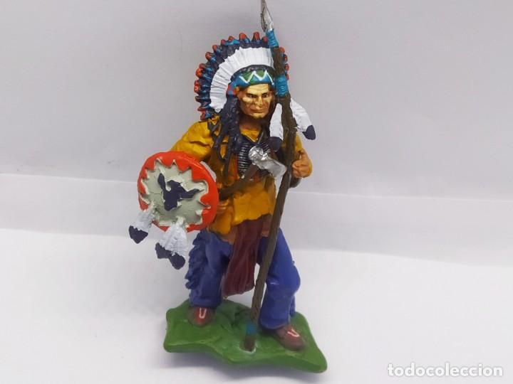 Juguetes Antiguos: INAH001 Toro Sentando Figura plomo Indios americanos Hobby Work - Foto 9 - 209277063