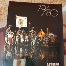 Juguetes Antiguos: CATÁLOGO ALYMER 1979-80 - FIGURAS MILITARES Y SOLDADITOS DE PLOMO AÑOS 70-80. Lote 210440905