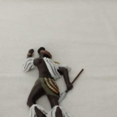 Juguetes Antiguos: 1/32 FRONTLINE ZULU WAR Nº 4 ZULU WARRIOR LYING WOUNDED (BRITAINS, CONTE). Lote 211555177