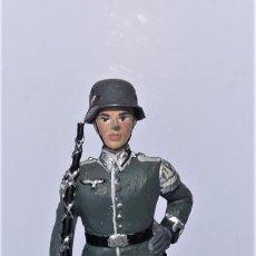 Juguetes Antiguos: SOLDADOS PLOMO MARCA SOLDAT. ALEMANIA 1939 - 45. TAMBOR MAYOR .. Lote 206485001