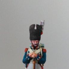Juguetes Antiguos: RGTO. GRANADEROS PROVINCIALES. TROPAS ISABELINAS. PLOMO, 65 MM. PINTADO A MANO. POR ENCARGO.. Lote 211871122