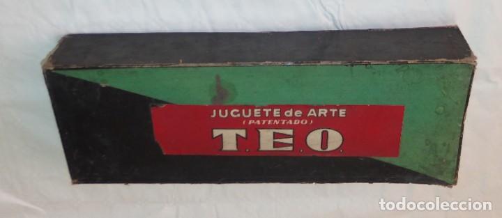 Juguetes Antiguos: JUGUETE DE ARTE TEO,CARRERAS MECÁNICAS,CARRERA DE CABALLOS,CAJA ORIGINAL,AÑOS 20 Ó 30 - Foto 5 - 212574113