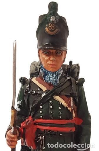 Juguetes Antiguos: FIGURA PLOMO Sargento de fusileros, 1811, escala 1:30, EDICCIÓN COLECCIONISTA. NUEVA. - Foto 3 - 213376187