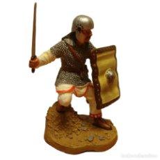 Juguetes Antiguos: GHASSANIC WARRIOR GUERREROS DE LA ANTIGUEDAD FIGURA SOLDADO PLOMO ALTAYA. Lote 213579486