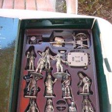 Juguetes Antiguos: BONITO LOTE DE FIGURAS DE PLOMO VER FOTOS DE COLECCION. Lote 214957606