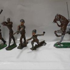 Juguetes Antiguos: GRUPO DE 9 SOLDADITOS DE PLOMO.. Lote 215620112