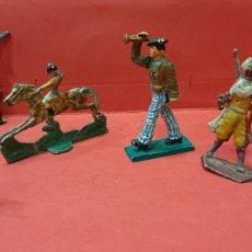Juguetes Antiguos: LOTE DE 6 SOLDADITOS DE PLOMO.. Lote 215627010
