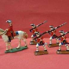 Juguetes Antiguos: LOTE DE 8 SOLDADITOS DE PLOMO EN MINIATURA.. Lote 216001047