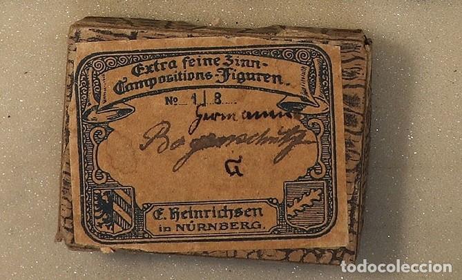 Juguetes Antiguos: 20 ANTIGUOS (1950/60) SOLDADOS DE PLOMO, INFANTERIA BAJO FUEGO,1870-1871 , PLOMOALEACIÓN - Foto 2 - 216719038