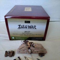 "Juguetes Antiguos: 54MM W. BRITAIN (BRITAINS) ZULU WAR 20127 "" ZULU TWILIGHT Nº 1 "" (3 PIECES). Lote 216786011"