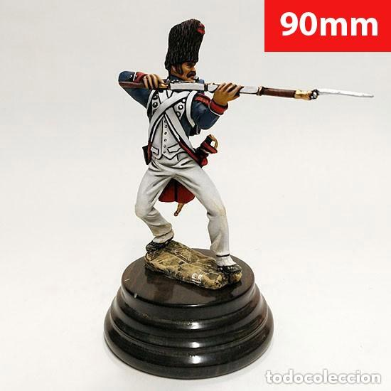 Juguetes Antiguos: SOLDADO DE PLOMO - 90 MM GUARDIA IMPERIAL 1815 - FIGURA MINIATURA METAL 90MM - Foto 1 - 113109271