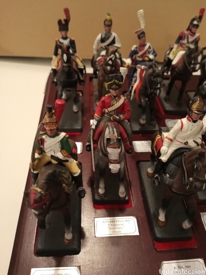 Juguetes Antiguos: Colección Soldados a Caballo de plomo. - Foto 4 - 218330050